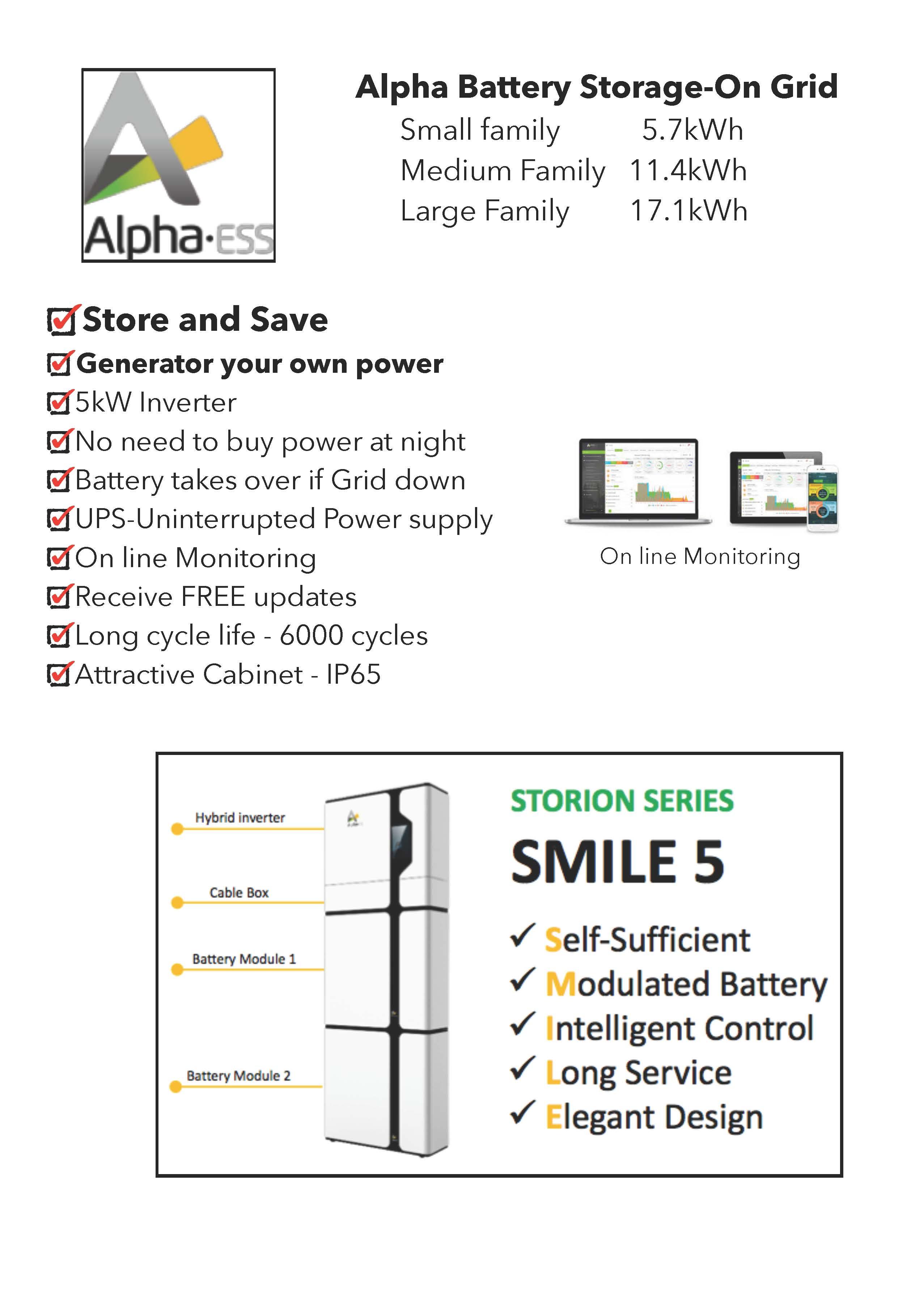 Impact Solar Battery Storage Sunshine Coast Qld Alpha Charger Wiring Diagram Manual En Storion Smile 5 Specifications Batt M48112 P