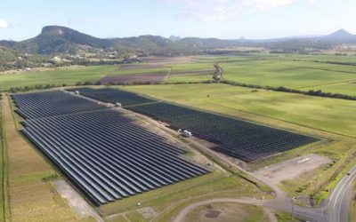 Solar farm right here on the Sunshine Coast!