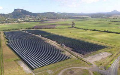 Solar farm right here on the Sunshine Coast!